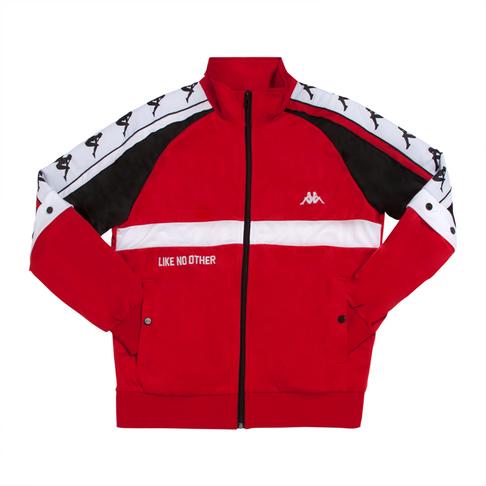 d88a408e4b KAPPA MEN'S RED/BLACK/WHITE AUTHENTIC SWEATER