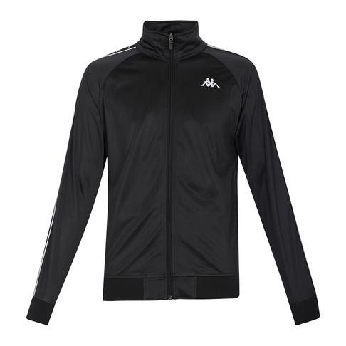 09a7bfb96621 KAPPA Men s Black White 222 Banda Anniston Jacket