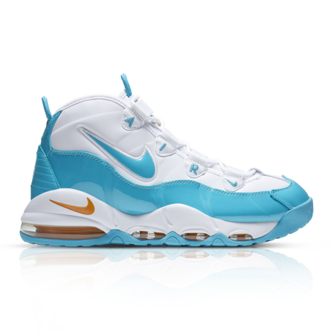 low priced 62ff3 7bfb8 Nike Men s Air Max Uptempo  95 White Blue Sneaker
