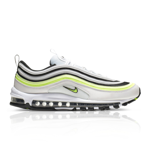 newest collection cf5fc 2ebf2 Nike Men's Air Max 97 'Volt Pack' White Sneaker