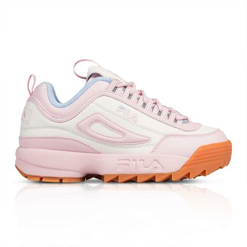 cdd6604896fb2 Fila Women's Disruptor II Premium Pink Sneaker