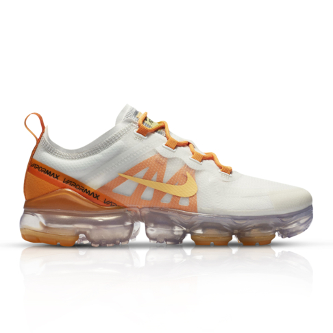 super popular a300a 3d032 Nike Women's Air Vapormax 2019 White/Gold Sneaker