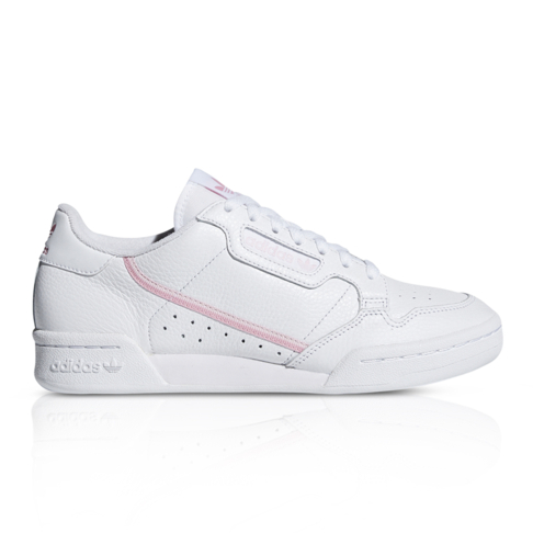 777af06372dc adidas Originals Women s Continental 80 White Pink Sneaker