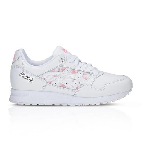 separation shoes 1ec01 984a1 ASICSTIGER Women's Gel-Saga Cherry Blossom White Sneaker