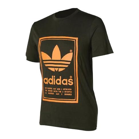 e2e04dcf4 adidas Originals Men's Camo/ORG Japanese Vintage T-Shirt