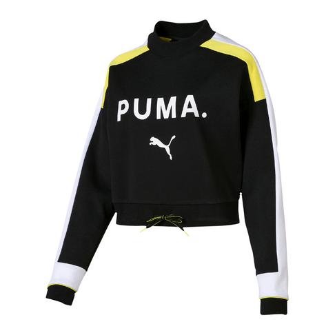 cca3c0c007 PUMA Women's Black Chase Sweater