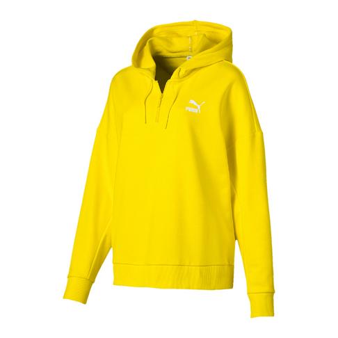 d17ff1d55 PUMA Women's Yellow XTG Halfzip Hoody