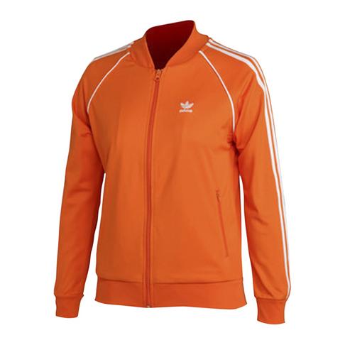 Adidas Originals Women S Sst Orange Track Top