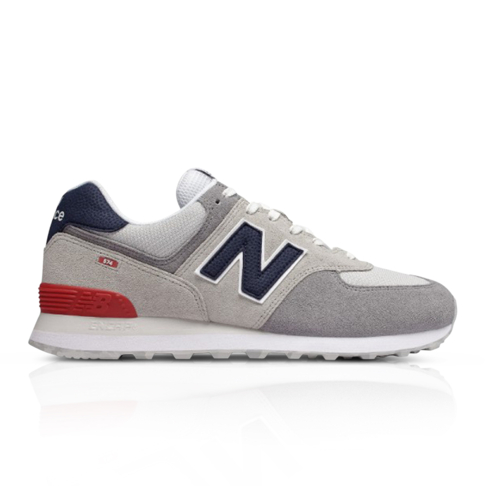 new product 2df6f 6c345 New Balance Men's 574 Classic Grey Sneaker