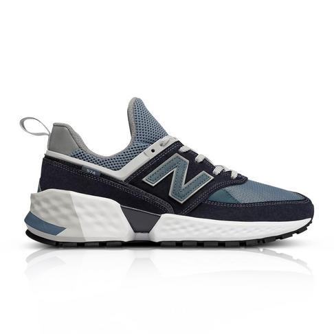 35b36403 New Balance Men's 574 Sport Decade Pack Black Sneaker