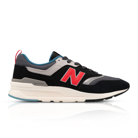 super popular c043a 0c6d3 New Balance Men's 997 Black Sneaker