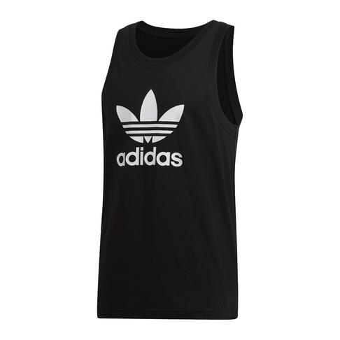 34e88f5d026054 adidas Originals Men s Black Trefoil Tank