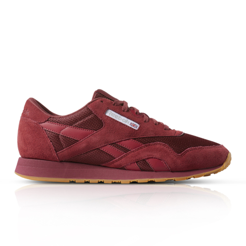 half off 41aba 68c3f Reebok Men s Classic Nylon Red Sneaker