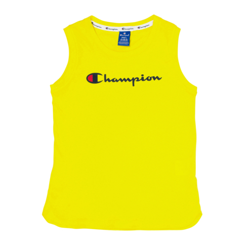 46b37db9a3f9 Champion Women s Yellow Tank Top