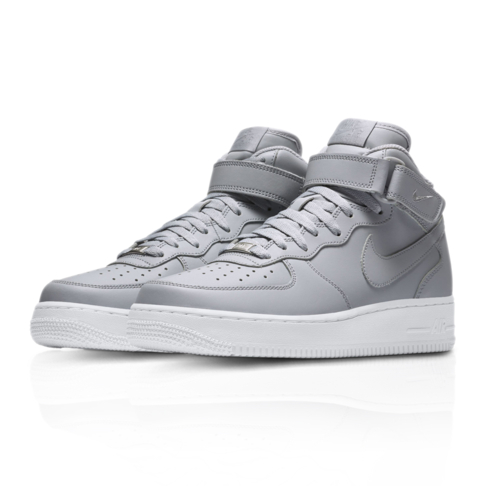new arrival d8e1b edecd Nike Men's Air Force 1 Mid '07 Grey Sneaker