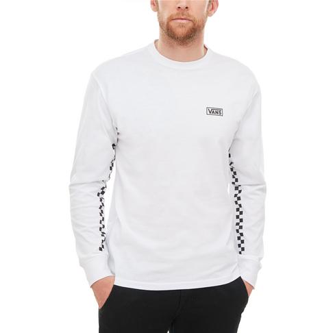 dd275a13ae16 Vans Men s White OTW Distort Long Sleeve T-Shirt