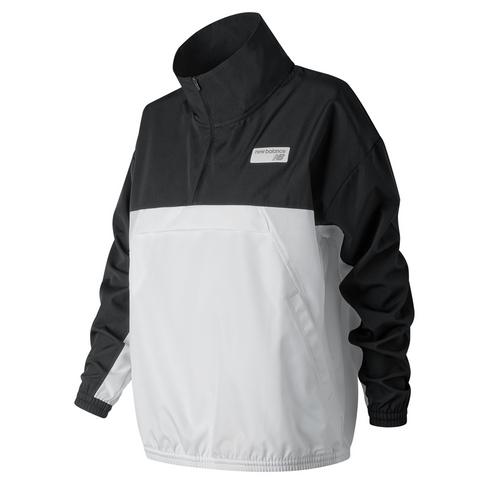c91899c0943db New Balance Women's Black NB Athletics Windbreaker Pullover Jacket