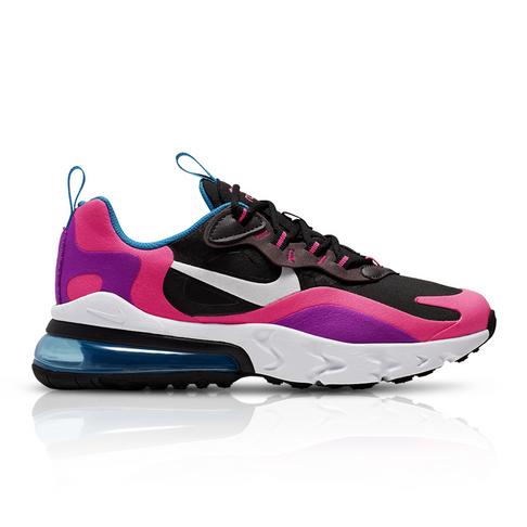 buy online d46d9 ba3b5 Nike Junior Air Max 270 React Black/White Sneaker