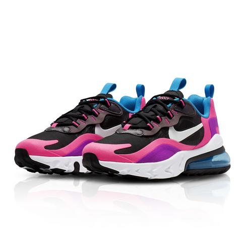 buy online 88de6 db68b Nike Junior Air Max 270 React Black/White Sneaker