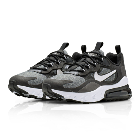 watch 78912 964c7 Nike Junior Air Max 270 React Black/Grey Sneaker