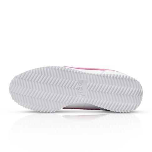 sports shoes 3ba51 71b96 Nike Junior Cortez Basic SL White/Pink Sneaker