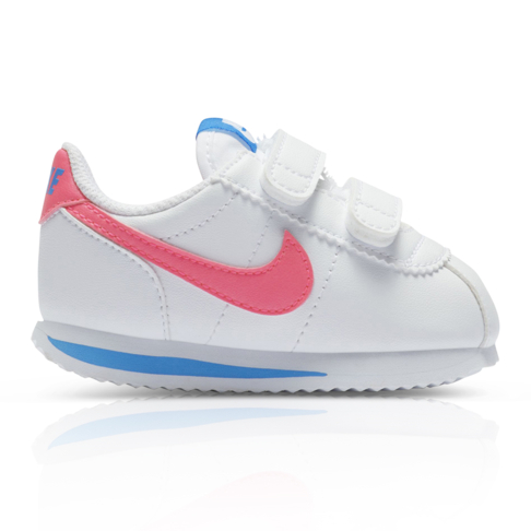 watch 89001 93c62 Nike Toddlers Cortez Basic SL White/Pink Sneaker