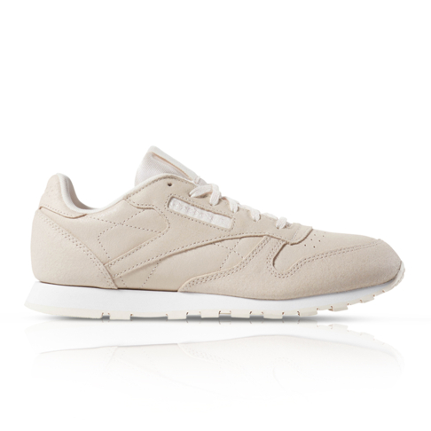 more photos half off outlet Reebok Junior Classic Leather Pink Sneaker