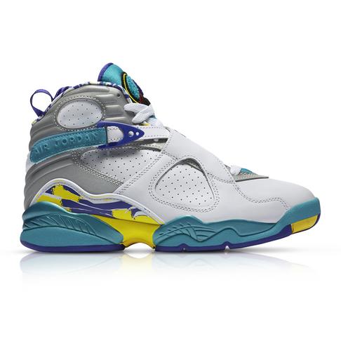 best value 78a21 73e4e Air Jordan Women's Retro 8 White Sneaker