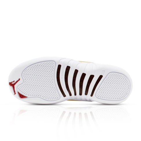 info for ca9e4 7b36c Air Jordan Junior Retro 12 White Sneaker