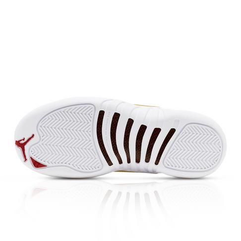 info for e35a2 2d06f Air Jordan Junior Retro 12 White Sneaker