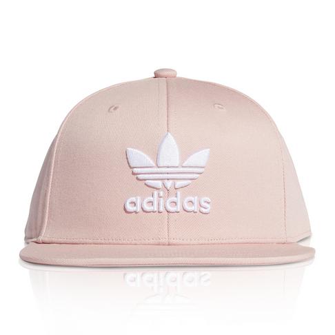 best service arriving buying now ADIDAS ORIGINALS PINK/WHITE SNAPBACK CLASSIC TREFOIL CAP