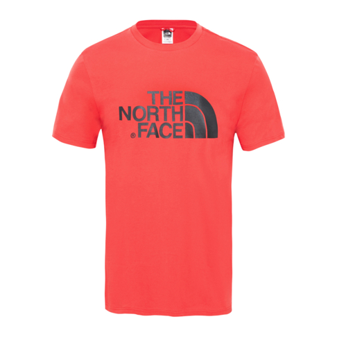 c179423fc The North Face Men's Salsa Red Short Sleeve Easy T-Shirt
