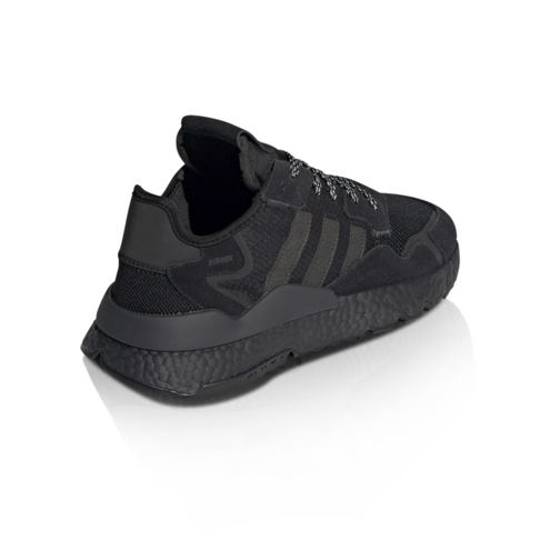 separation shoes fe6a9 365ac adidas Originals Men s Nite Jogger Black Sneaker
