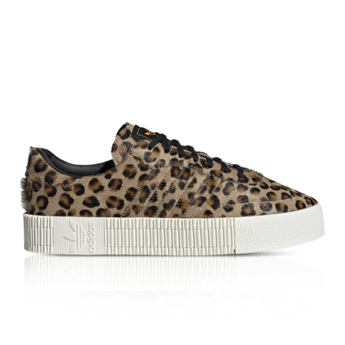 7794c3663bba adidas Originals Women s SambaRose Animal Print Sneaker