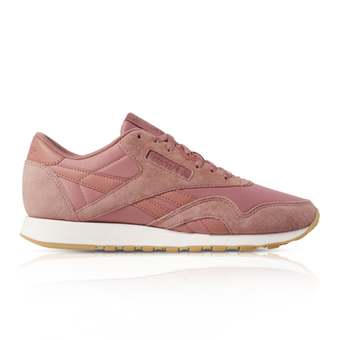 2ace3d9b Reebok Women's Classic Nylon Pink Sneaker