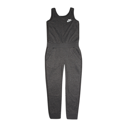 0616d48ee Nike Kids French Terry Black Jumpsuit