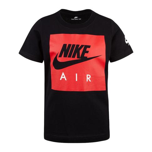 e7b08ed6c Nike Air Kids Box Logo Short Sleeve Black T-Shirt