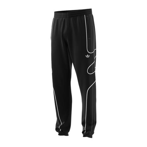 ea4bc78e47 adidas Originals Men's Black Flamestrike Woven Track Pants