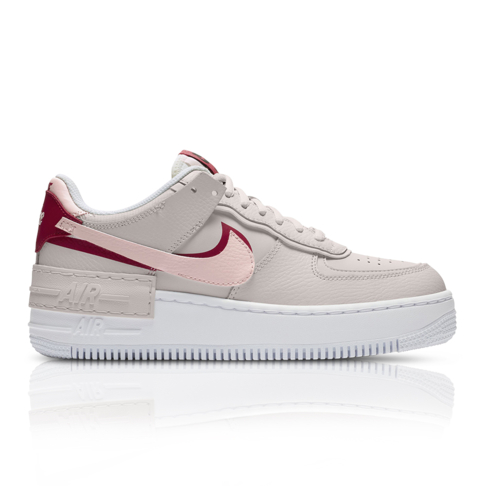 buy wholesale the latest Nike Women's Air Force 1 Shadow Grey/Pink Sneaker
