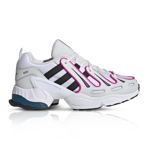 new style db158 6125c adidas Originals Women's EQT Gazelle White/Silver Sneaker