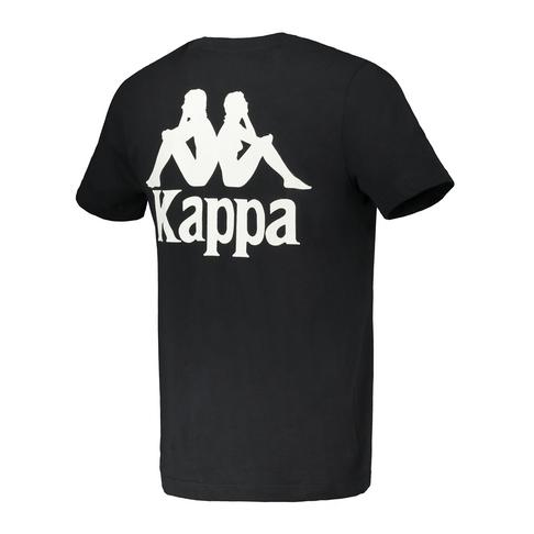 premium selection aead9 4561c KAPPA MEN'S BLACK AUTHENTIC EXTIL T-SHIRT