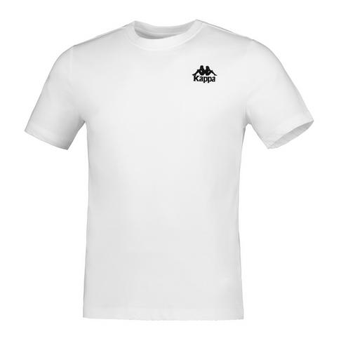 hot sale online 005d9 bc9c4 KAPPA MEN'S WHITE AUTHENTIC EXTIL T-SHIRT