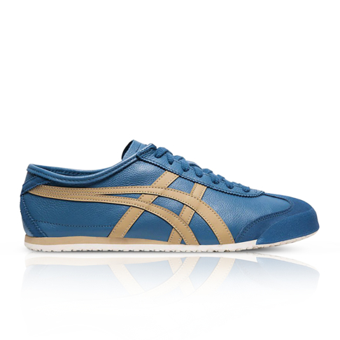 newest 1df71 6719b Onitsuka Tiger Men's Mexico 66 Blue Sneaker