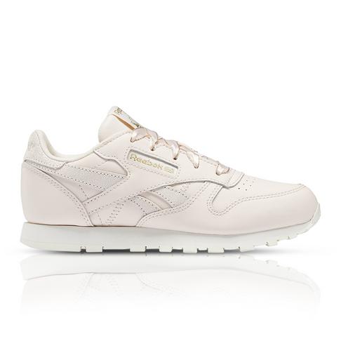 watch sleek best supplier Reebok Kids Classic Leather Pink Sneaker