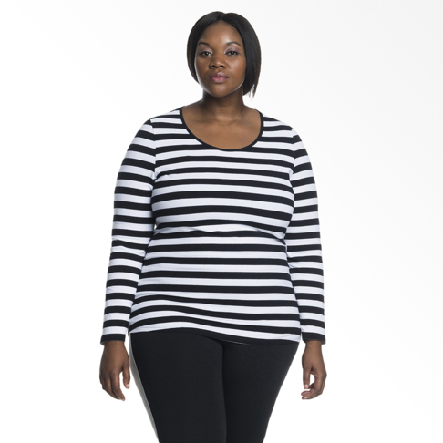 72b8a88d Plus Size | Basic Fitted Tee