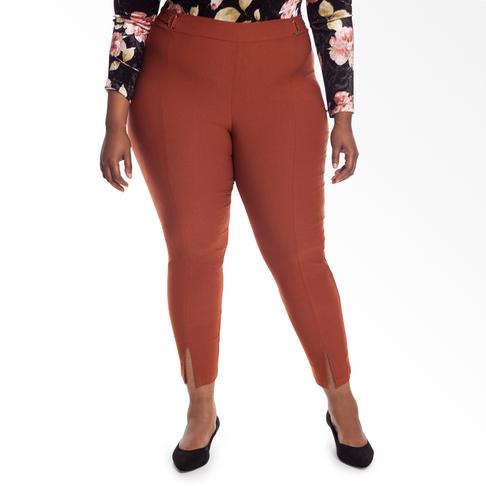 327ea972d3f246 Plus Size | Slim Leg Bengaline Pants