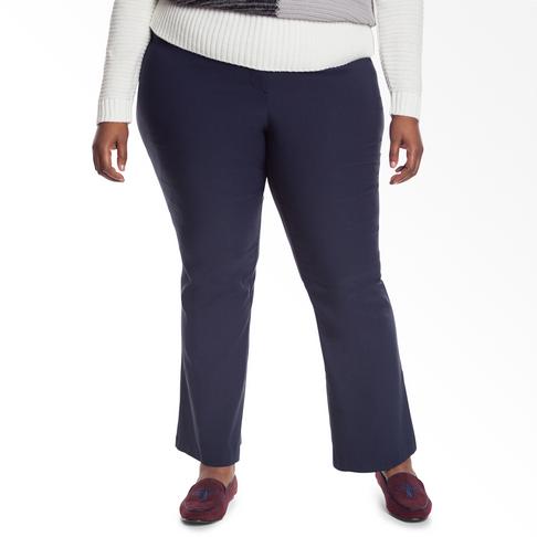 5331b9ebf8fa96 Plus Size | Bootleg Bengaline Pants
