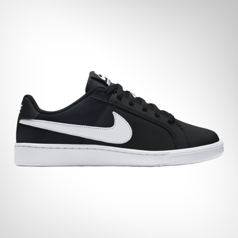 73731596e WMNS NIKE COURT ROYALE BLK/WHITE