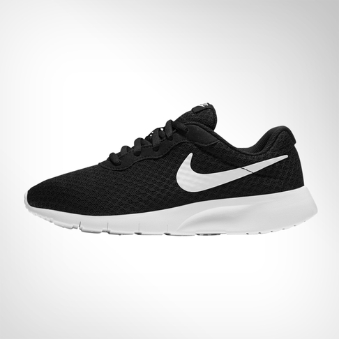 reputable site ee41c 11133 Junior Grade School Nike Tanjun Black White Shoe