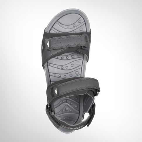 c454e2b0093729 Men s Hi-tec Ula Black Grey Sandal